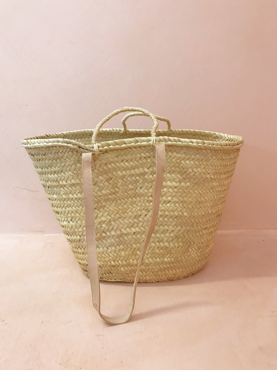 Sadie Double Handle Beach Basket Large