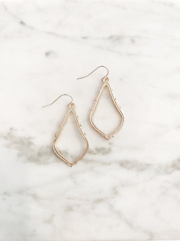 Call Me The Breeze Frida Earrings Rose Gold - Call Me The Breeze - 1
