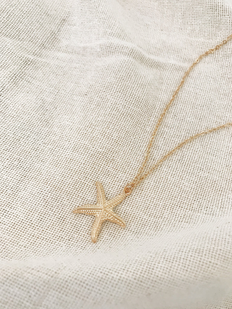 Molly Starfish Shell Necklace