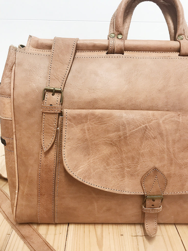Agnes Leather Suitcase