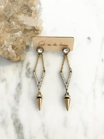 Call Me The Breeze Heidi Drop Earrings