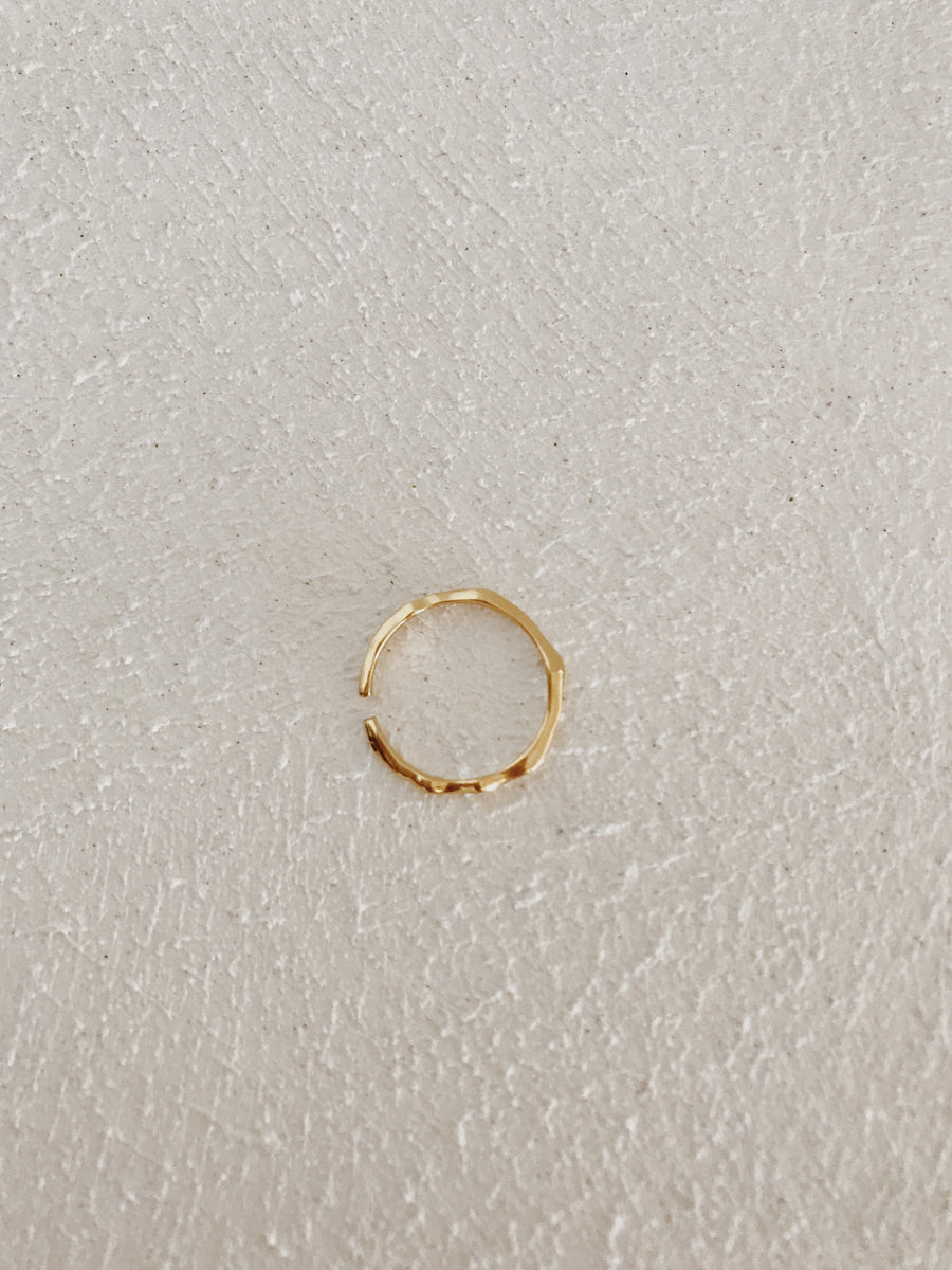 Mae Twig Ring Gold
