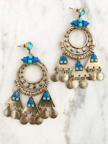 Call Me The Breeze Rebekah Earrings