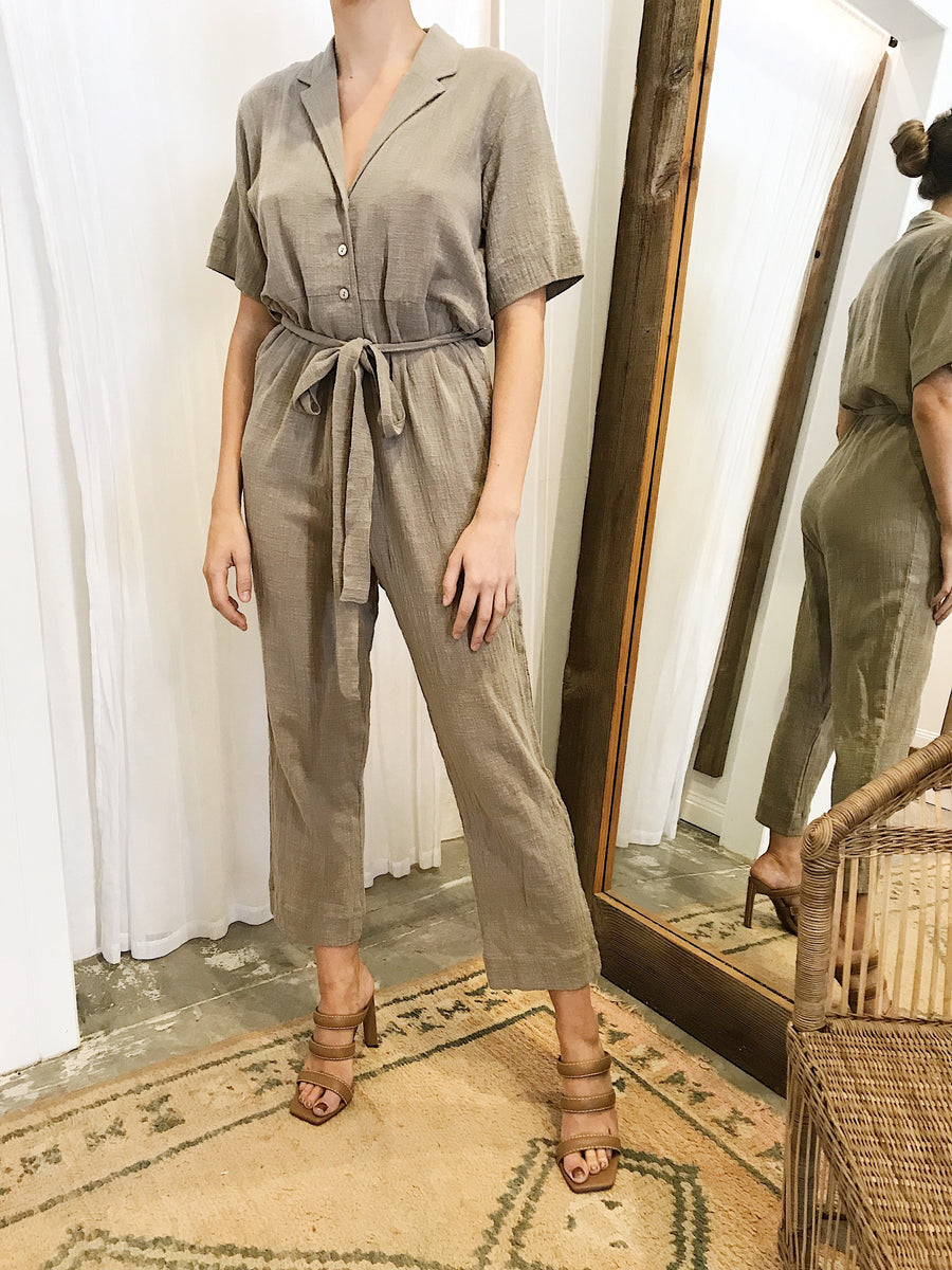 Lilya Ursula Jumpsuit Coffee