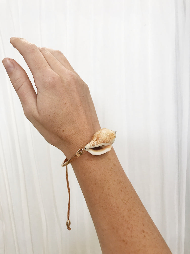 Zimmy Shell Bracelet Natural