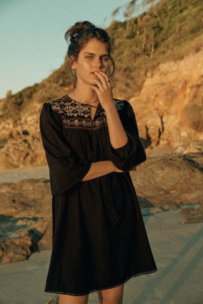Saint Helena Oman Smock Dress