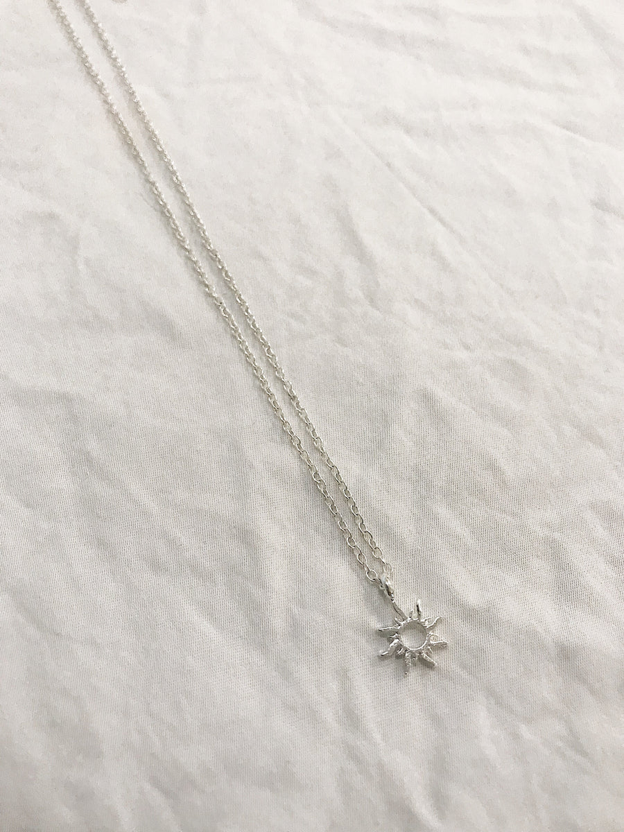 Sol Necklace Silver