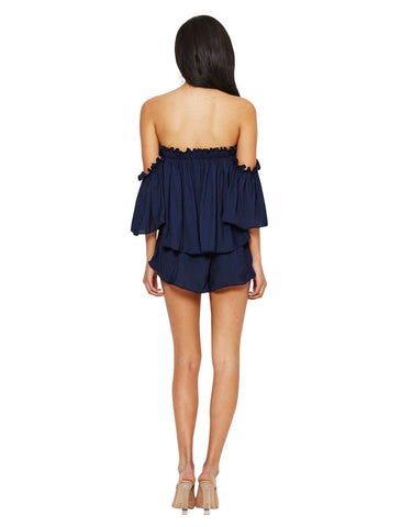 Bec and Bridge Ocean Eyes Playsuit Ink - Call Me The Breeze - 1