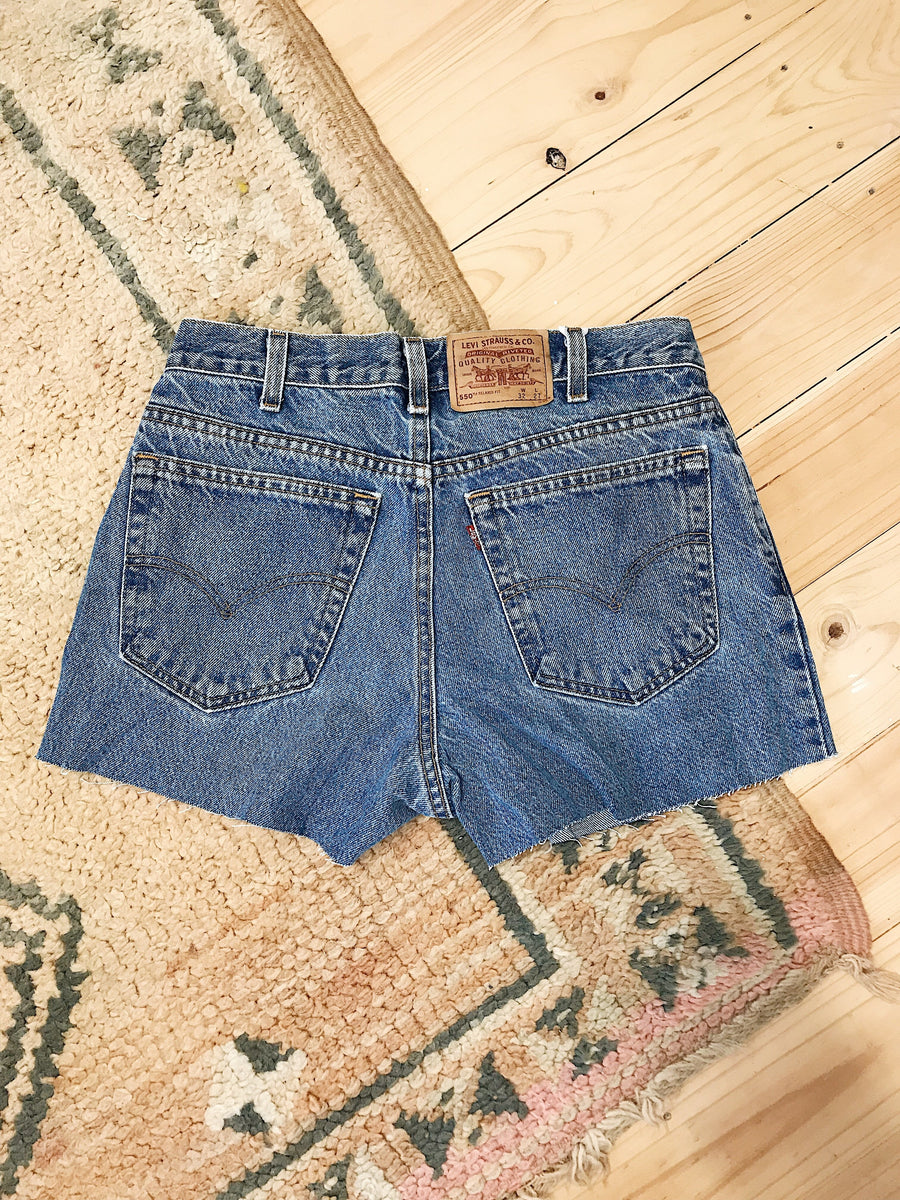 Vintage Levis Denim Shorts Size 32