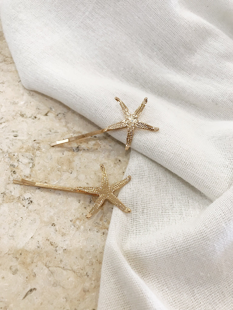 Arlo Starfish Hair Pin