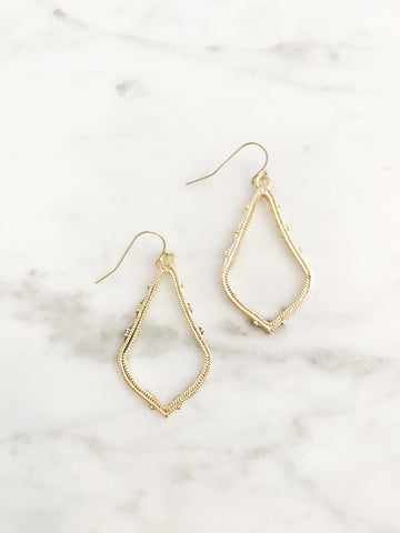 Call Me The Breeze Frida Earrings Gold - Call Me The Breeze - 1