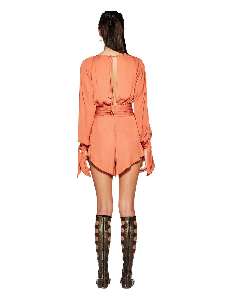Bec and Bridge Shifting Sands Playsuit Rust - Call Me The Breeze