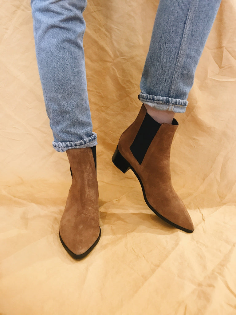 Dept Of Finery Carina Boots Tan