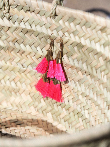 Call Me The Breeze Stephanie Earring Fuchsia
