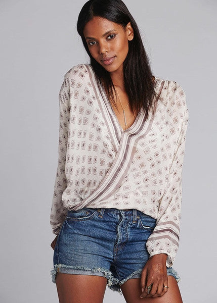 Free People Before Dawn Top Pearl - Call Me The Breeze