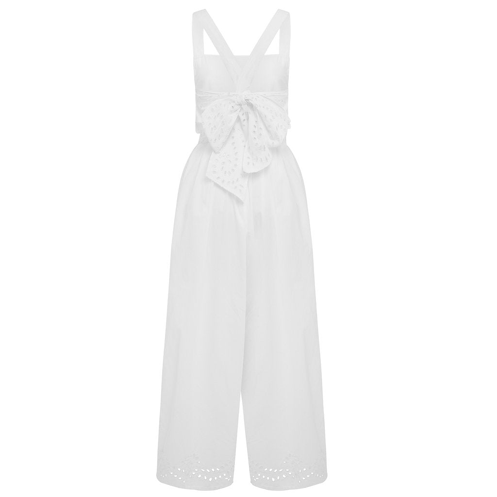 All That Remains Indigo Jumpsuit Salt