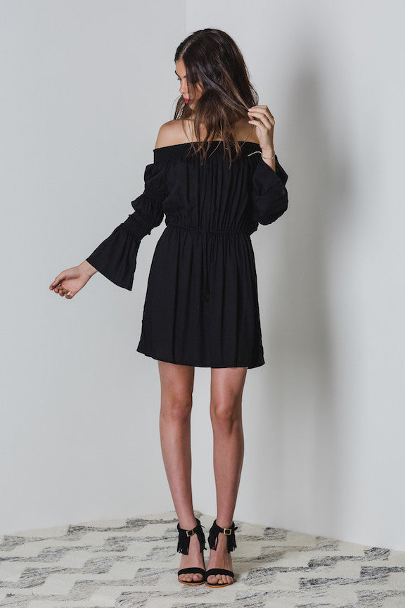 Lilya Leila Dress Black - Call Me The Breeze - 3