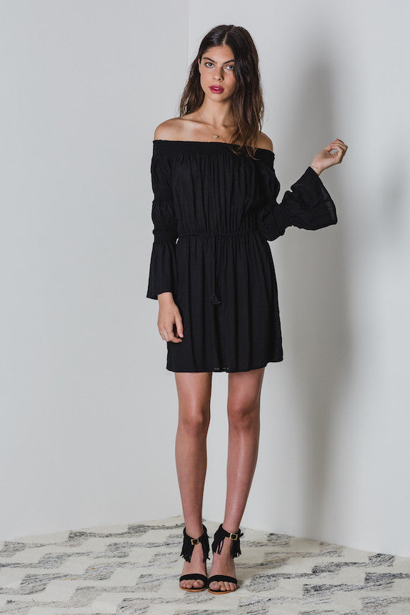 Lilya Leila Dress Black - Call Me The Breeze - 4
