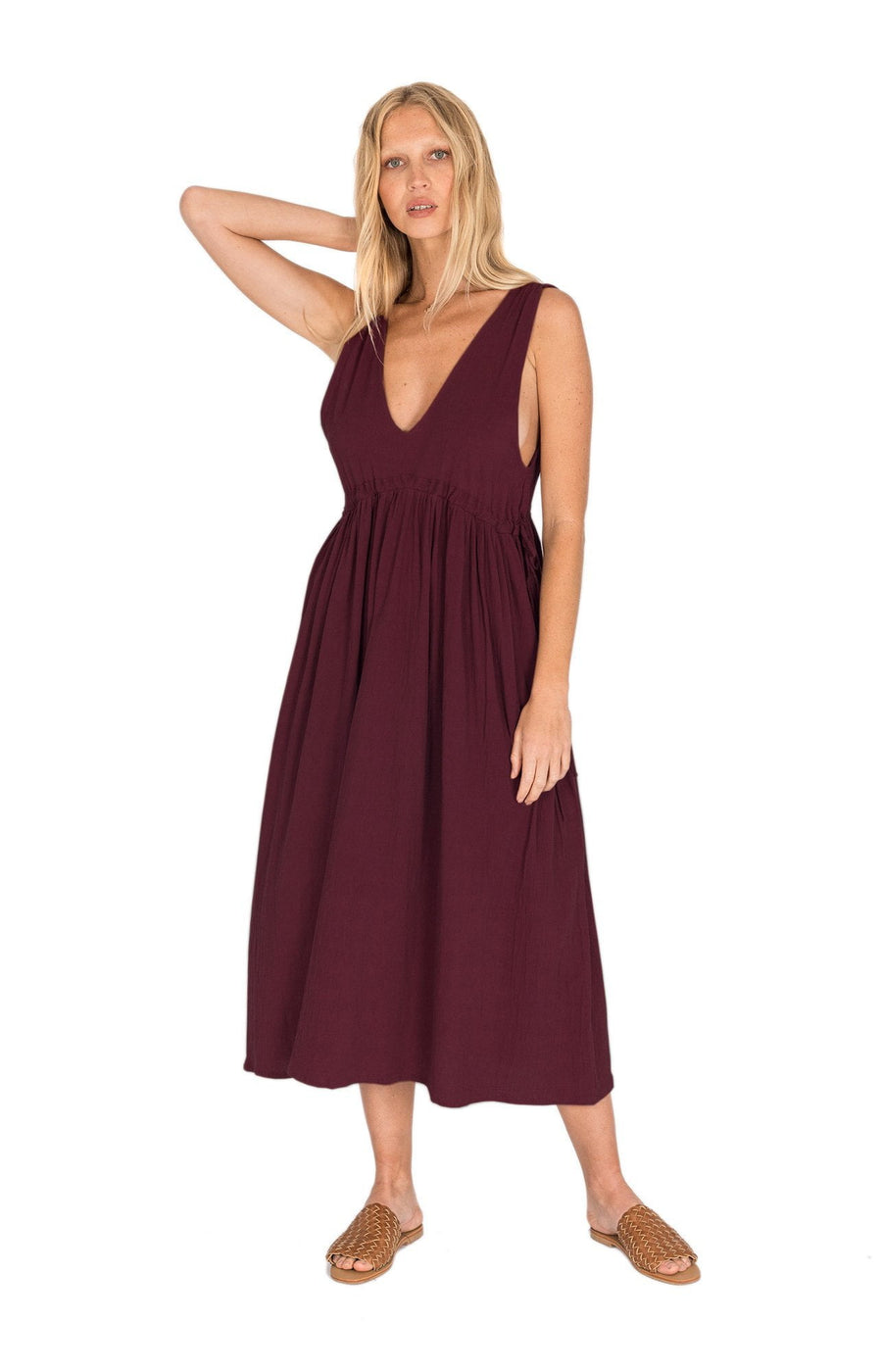 The Bare Road Lexi Dress Plum