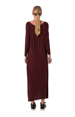 The Bare Road Maxi Dress Wine