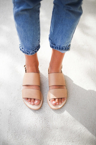 Call Me The Breeze Maya Sandals Natural