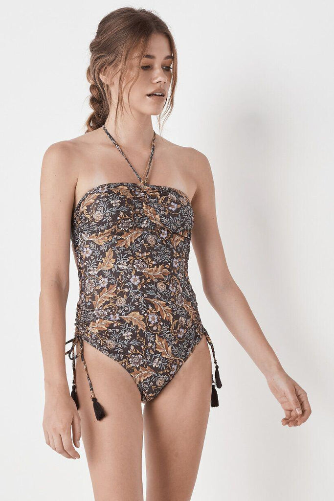 Spell Oasis Rouched One Piece Nightshade