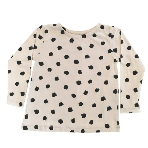 Children Of The Tribe Polka Dot Long Sleeve Swing Top