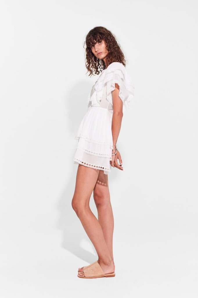 Sir The Label Dylan Ruffled Mini Dress
