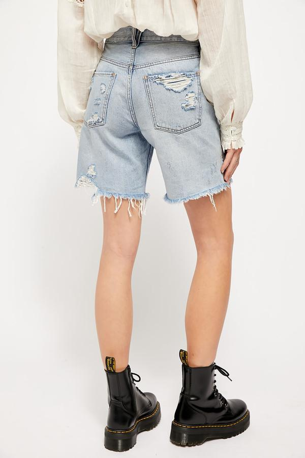 Free People Sequoia Short Vintage Denim