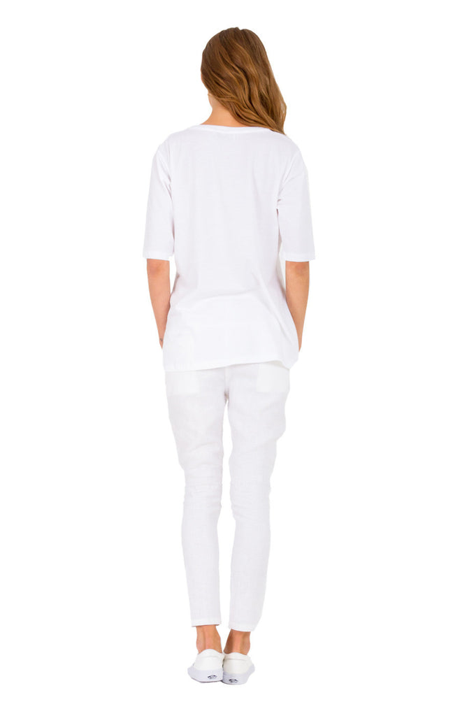 The Bare Road Linen Slouchies Off White - Call Me The Breeze - 2