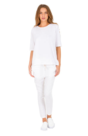 The Bare Road Linen Slouchies Off White - Call Me The Breeze - 1