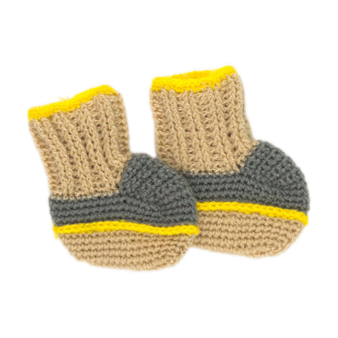 Children of the Tribe Sundown Knitted Booties