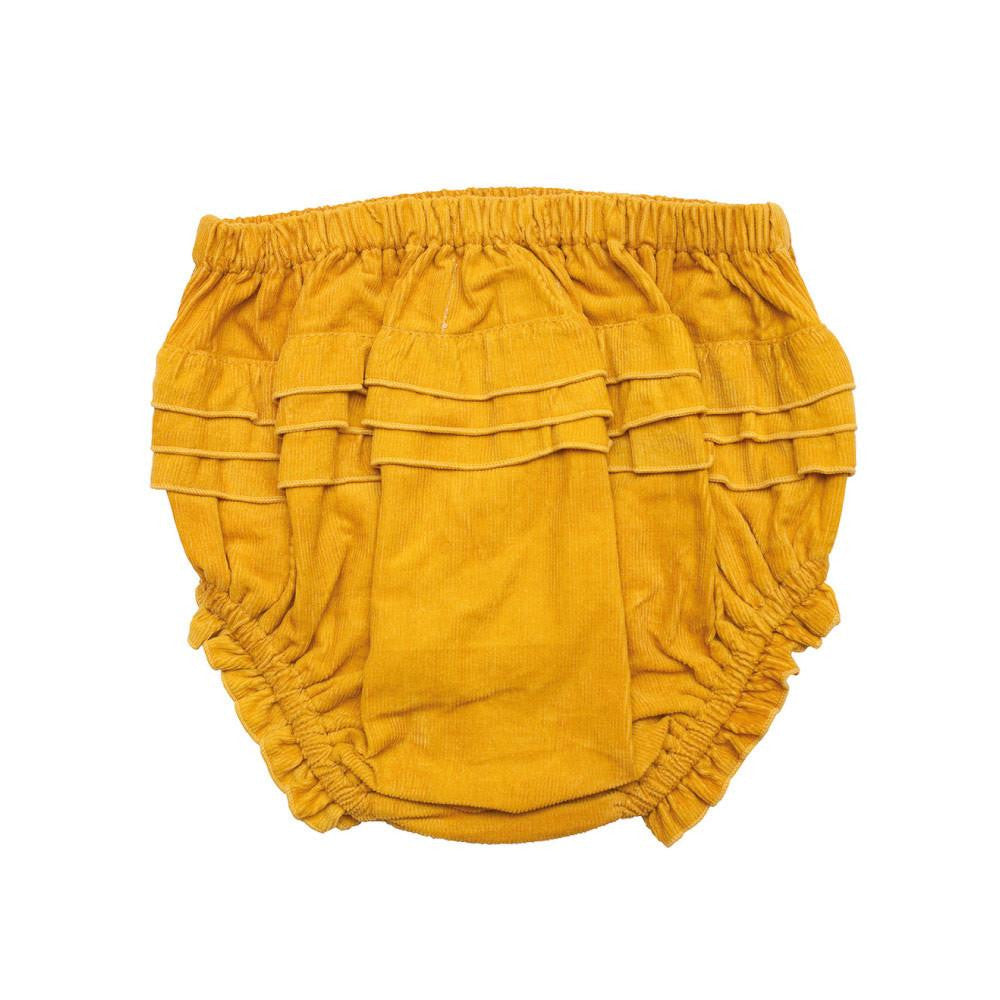 Children of the Tribe Tiny Dancer Corduroy Embroidered Bloomers - Call Me The Breeze - 2