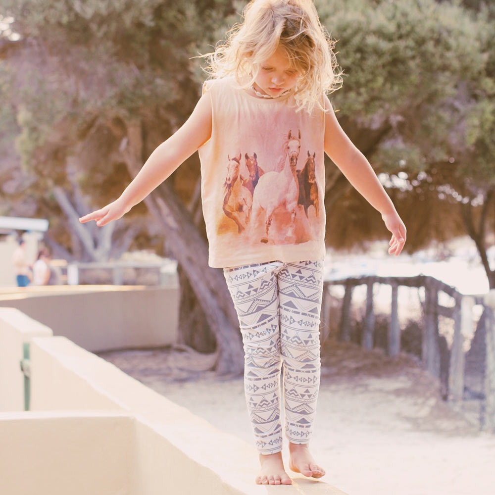 Children of the Tribe Tipi Vacation Leggings - Call Me The Breeze