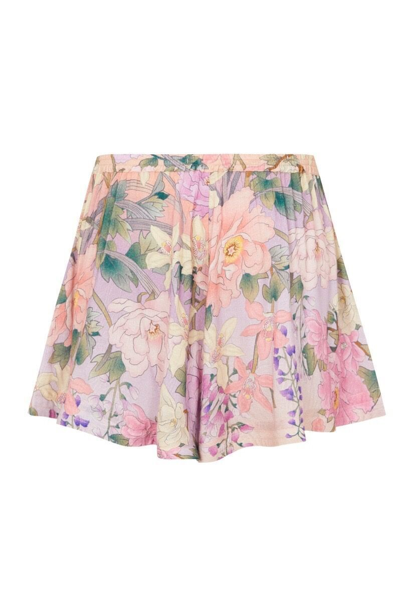 Spell Lily Flutter Shorts Lilac