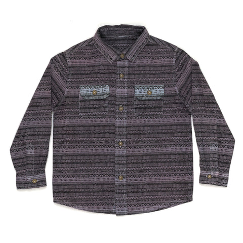 Children of the Tribe Wanderlust Flannel Shirt