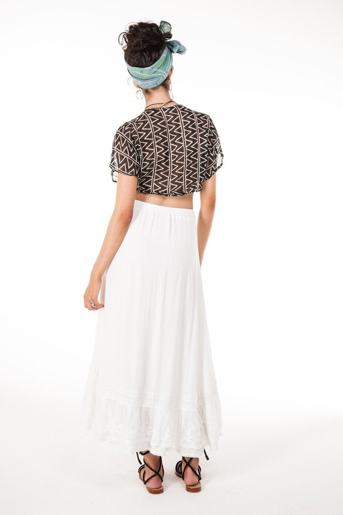 Arnhem Stevie Lace Skirt - Call Me The Breeze - 8
