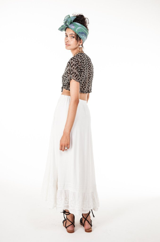 Arnhem Stevie Lace Skirt - Call Me The Breeze - 9