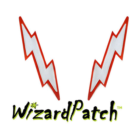 LARGE LIGHTNING BOLT PAIR PATCHES