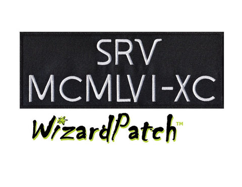 SRV Side arm Patch HDMM