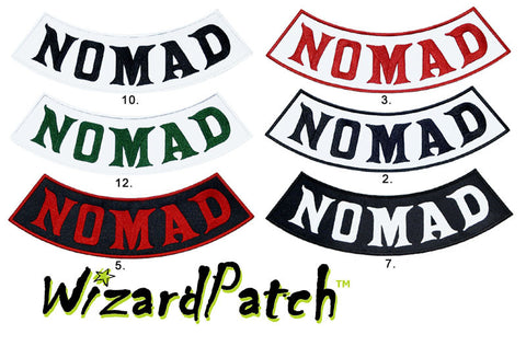 MAYANS STYLE NOMAD BOTTOM ROCKERS, ANARCHY TV SERIES BEST FULL VEST PATCH SET AVAILABLE, BEST EMBROIDERY GUARANTEED