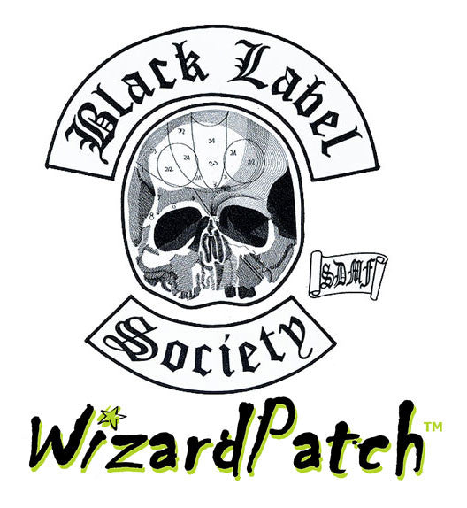 Black Label Society 4pc Back Set