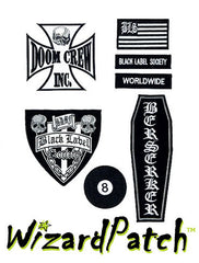 Black Label Society 7pc DOOM CREW Set