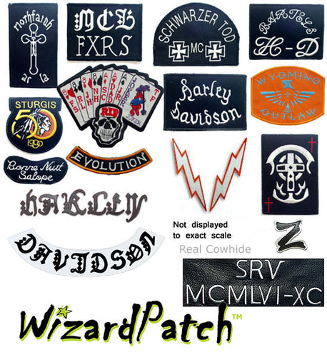 HDMM 23 PC JACKET PATCHES