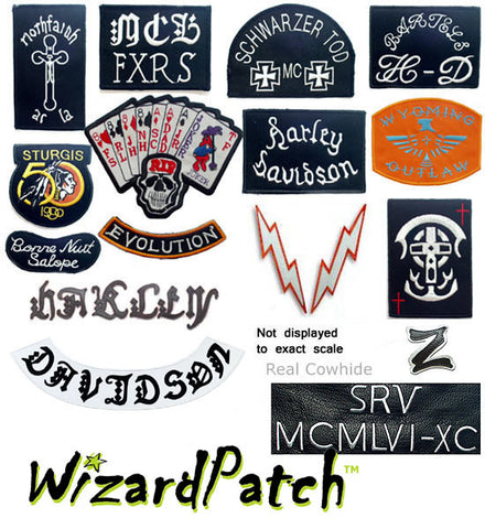 HDMM 23PC FULL JACKET PATCH SET