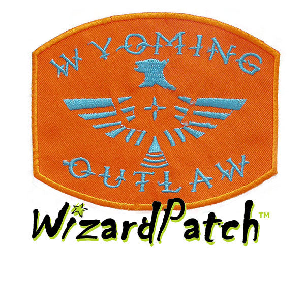 """WYOMING OUTLAW 4"""" PATCH"""