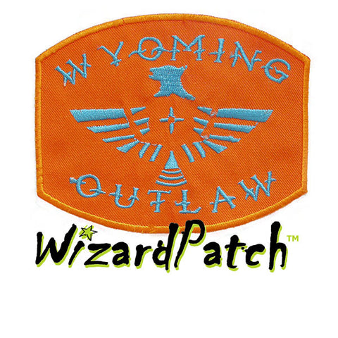 "WYOMING OUTLAW 4"" PATCH"
