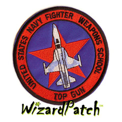 USN FWS Fighter Weapons School , WOLFPACK, USN NAVY, TOP GUN ORIGINAL MOVIE JACKET PATCH, G1 FLIGHT JACKET USN PATCH, TOM CRUISE,