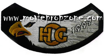Harley owners group hog rocker vest patch harley davidson