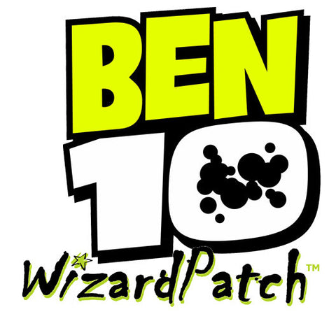Ben 10 Fully Embroidered Logo Patch Iron on